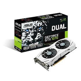 Asus GeForce GTX 1070 Dual 2xHDMI 2xDP 8Go