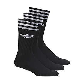 Adidas Originals Solid Crew Sock 3-Pack