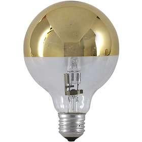 PRhome Halogen Globe Mirror Gold E27 18W