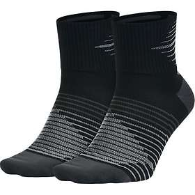 Nike Dri Fit Lightweight Quarter Running Sock 2-Pack