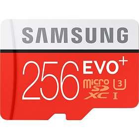 Samsung Evo+ microSDXC Class 10 UHS-I U3 256GB