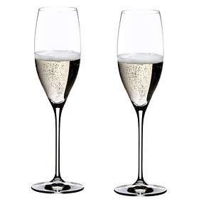 Riedel Vinum Cuvée Prestige Champagneglass 23cl 2-pack