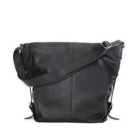 Ceannis Grained Leather Shoulder Bag