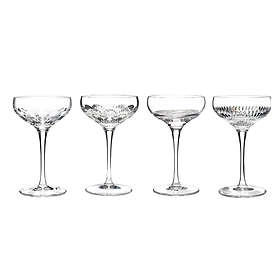 Waterford Mixology Clear Champagneglass 4-pack