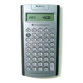 Texas Instruments TI-BAII Plus Professional