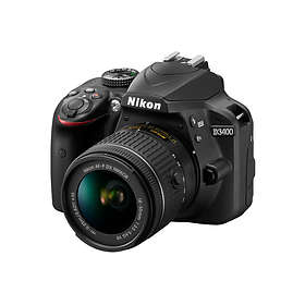 Nikon D3400 + AF-P 18-55/3.5-5.6 VR