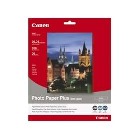 "Canon SG-201 Photo Paper Plus Semi-gloss Satin 260g 8x10"" 20stk"