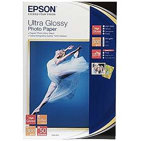 Epson Ultra Glossy Photo Paper 300g 10x15cm 50st