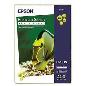 Epson Premium Glossy Photo Paper 255g A4 50stk