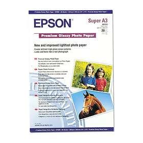 Epson Premium Glossy Photo Paper 255g A3+ 20stk