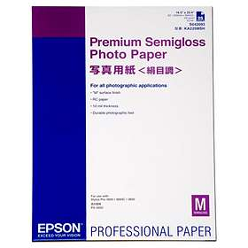 Epson Premium Semi-gloss Photo Paper 250g A2 25stk