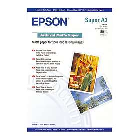 Epson Archival Matte Paper 192g A3+ 50stk