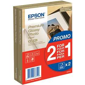 Epson Premium Glossy Photo Paper 255g 10x15cm 2x40st