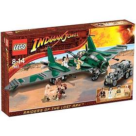 LEGO Indiana Jones 7683 Slagsmål på Flying Wing