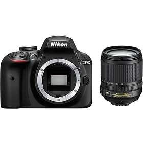 Nikon D3400 + 18-105/3,5-5,6 VR