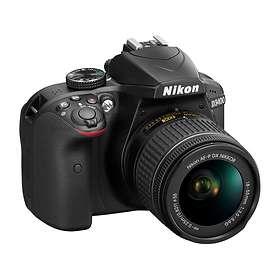 Nikon D3400 + AF-P 18-55/3.5-5.6