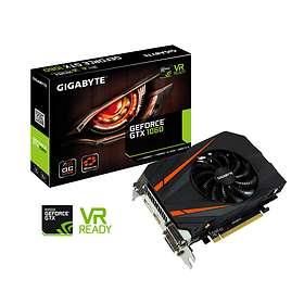 Gigabyte GeForce GTX 1060 Mini ITX OC HDMI DP 2xDVI 3Go