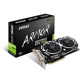 MSI GeForce GTX 1060 Armor OC V1 2xHDMI 2xDP 3GB