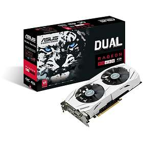 Asus Radeon RX 480 Dual OC 2xHDMI 2xDP 4Go