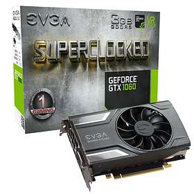 EVGA GeForce GTX 1060 SC Gaming HDMI 3xDP 3GB