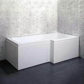 Bathlife Badekar Behag Høyre 170x85 (Hvit)