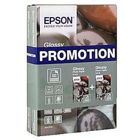 Epson Glossy Photo Paper BOGOF 225g 10x15cm 2x50st