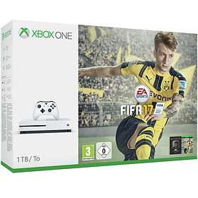 Microsoft Xbox One S 1To (+ FIFA 17)