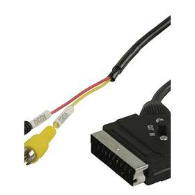 Valueline Scart - 2RCA with Switch in/out 1m