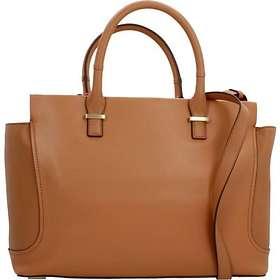 Calvin Klein Carolyn Leather Tote Bag (K60k602072001)