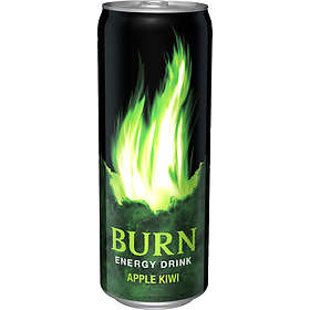 Burn Apple Kiwi Burk 0,35l 24-pack