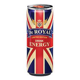 De Royal Energy Burk 0,25l 24-pack