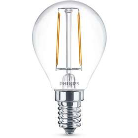 Philips LED Luster 250lm 2700K E14 2W