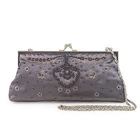 Farfalla Bags Satin Beaded Bag (SB90546)