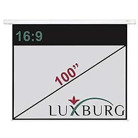 """Ektor Luxburg Manual Matt Grey 16:9 100"""" (221x125)"""