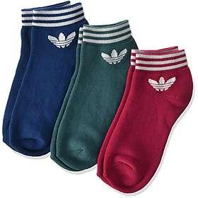 Adidas Trefoil Ankle Sock 3-Pack