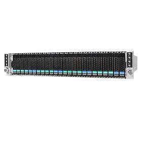 Intel Server Chassis H2224XXLR2 2130W (Sølv/Sort)