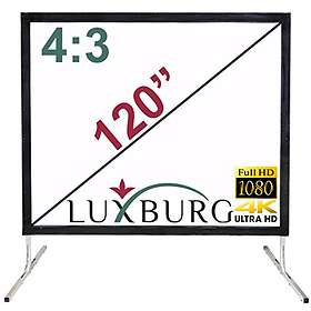 "Ektor Luxburg Fast Fold Portable Front & Rear Projection 4:3 100"" (203x152)"