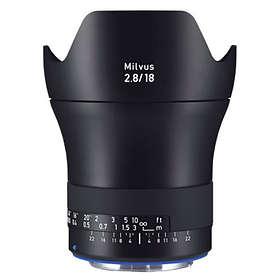 Zeiss Milvus 18/2,8 ZE for Canon