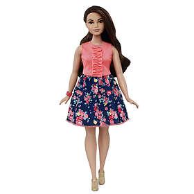Barbie Fashionistas 26 Spring Into Style Curvy Doll DMF28