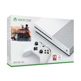 Microsoft Xbox One S 500GB (incl. Battlefield 1)