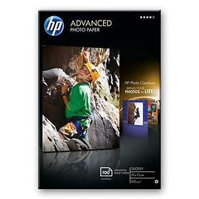 HP Advanced Glossy Photo Paper 250g 10x15cm 100stk