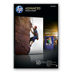 HP Advanced Glossy Photo Paper 250g 10x15cm 25stk