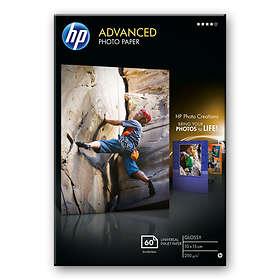 HP Advanced Glossy Photo Paper 250g 10x15cm 60stk