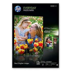 HP Everyday Semi-gloss Photo Paper 170g A4 25stk