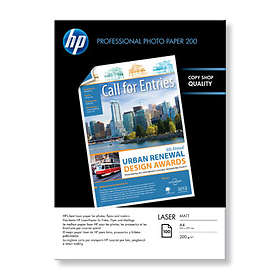 HP Matte Photo Laser Paper 200g A4 100stk
