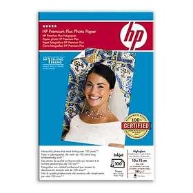 HP Premium Plus High-gloss Photo Paper 280g 10x15cm 100st