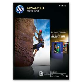 HP Advanced Glossy Photo Paper 250g A4 25stk