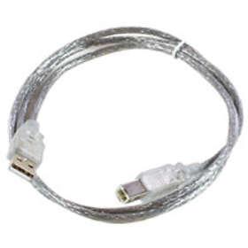 MicroConnect USB A - USB B 2.0 1,8m