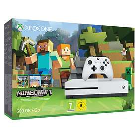 Microsoft Xbox One S 500GB (inkl. Minecraft Xbox One Edition)
