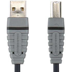 Bandridge Blue USB A - USB B 2.0 3m